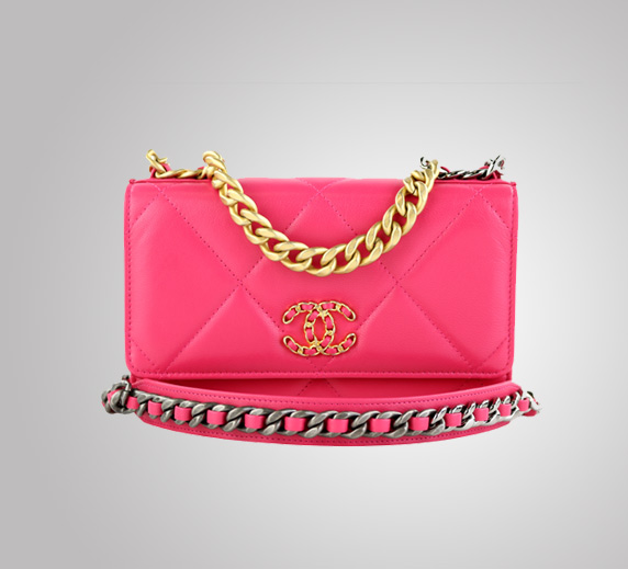 Chanel 19 Hot Pink