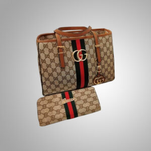 Gucci-Beige-Canvas-Mini-Tote-with-Matching-Wallet